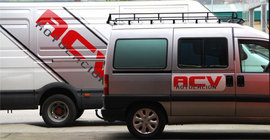 ACV. Empresa de rotulación y vinilos en Mieres, Asturias