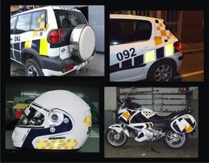equipación del cuerpo de policia local